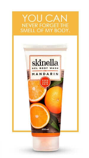 mandarin gel body wash